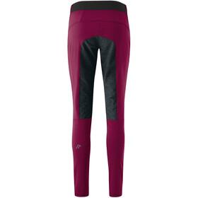 Maier Sports Ophit Plus Mallas Trekking Elásticas Mujer, red plum